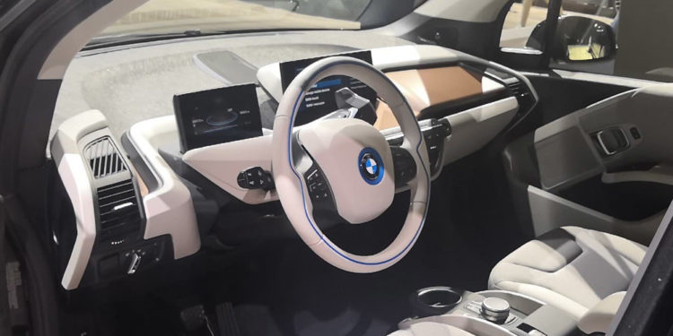 BMW i3s trim