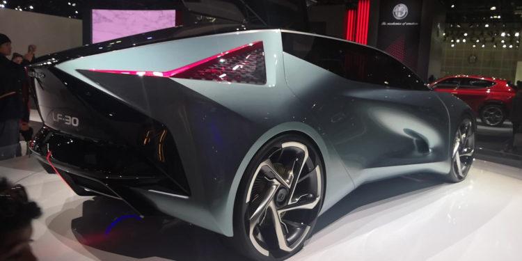 Lexus LF-30 design