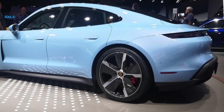 Porsche Taycan 4S wheels