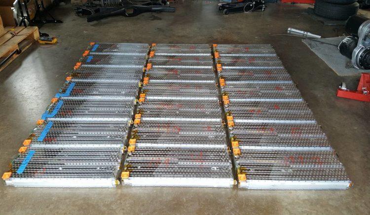 Tesla Model S Batteries