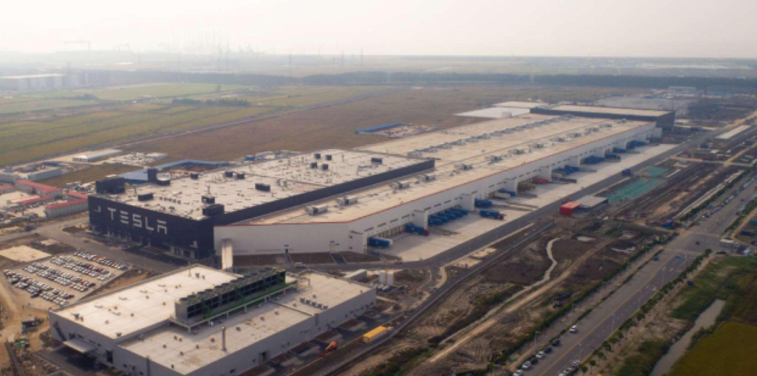 Tesla's Giga 3 Shanghai factory