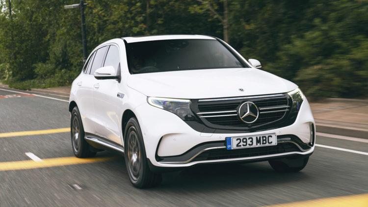 Mercedes EQC  London UK