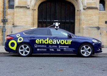 Endeavour self drive car Oxford.
