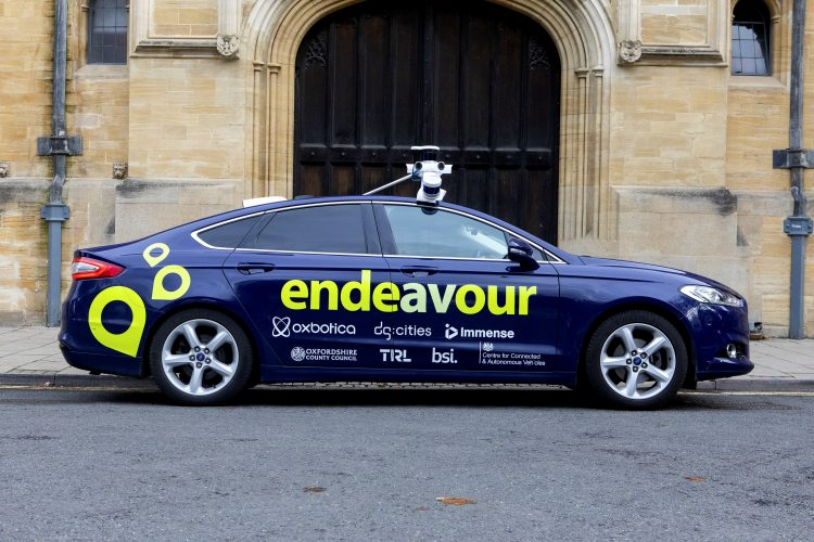 Endeavour self drive car Oxford.