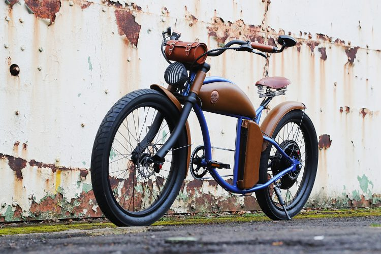 Seriously, this is an e-bike...
