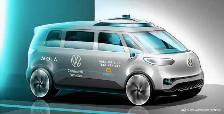 All-electric ID. BUZZ shall be the first vehicle in the Volkswagen Group to also drive autonomously.